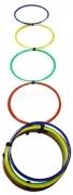 de Rugby JS Escalera agilidad aros multicolor 9042
